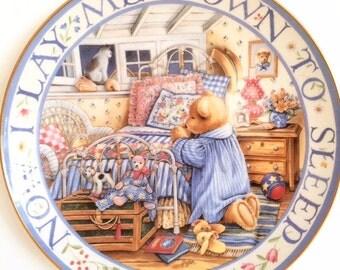 Royal Doulton The Franklin Mint Limited Edition Plate Teddy Bear no:MC1803