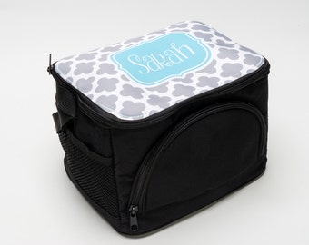 Personalized Lunch Box with Strap - Gifts by Mad For Monograms