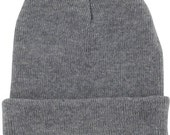 Plain Mens Beanie Hats | Free Shipping | winter knitted hat