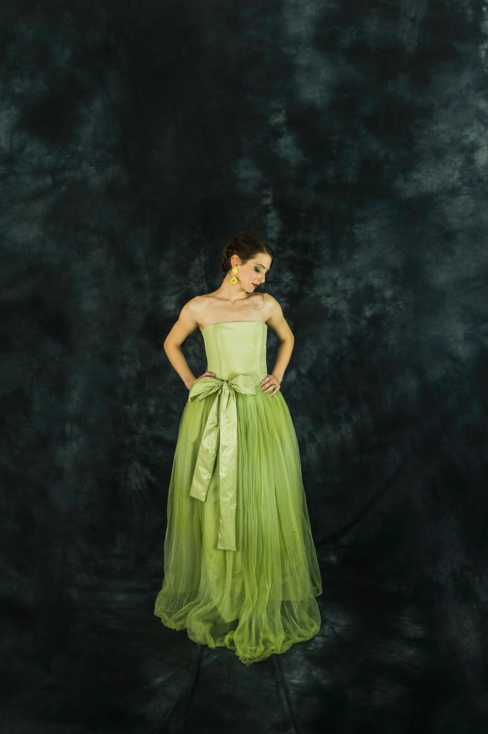 Lime Green Bridesmaid Dress Lime Green Tulle Dress Lime
