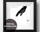 The Strokes - Is This It  - Album Cover Poster - Graphic Illustration - Digital Download