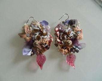 "Earrings ""summer storms"""