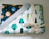 Baby burp cloths (set of 3)