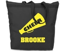 Personalized Your Colors. Personalized Cheerleading Bag. Sport Team Gift. Travel Bag.