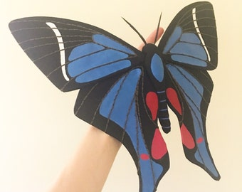 Periander Metalmark Butterfly Soft Sculpture