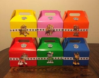 Paw Patrol Birthday Favor Box