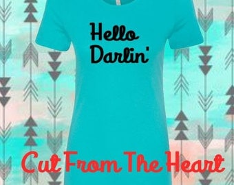 Country Music ~ Hello Darlin' ~ Conway ~ Perfect For Summer Country Concerts ~