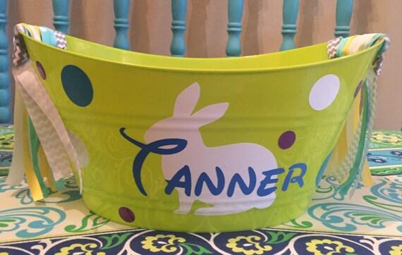 Custom made easter basket