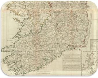 "Ireland 1790 Vintage 17""x13"" TV tray"