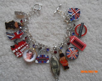 I LOVE LONDON! Charm Bracelet