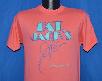 80s Fat Jacks Cafe PTown Cape Cod t-shirt Small