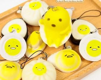 1 pcs Decoden Gudetama Egg Sushi Japanese Fake Food Miniature Doll House Toy 4-6cm CN887