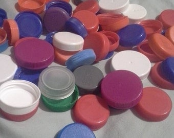 50 + plastic recycled lids