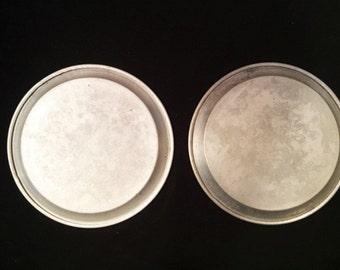 Aluminum plates - 2 camping plates