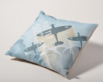 """Battle of Britain cushion cover 40x40cm (16""""x16"""")"""