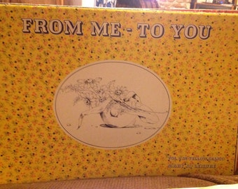 From Me-To You. Volume Two (2) in Yellow Calico Paperback – 1975 by  Mary Jo Leisure (Author) - FREE SHIPPING