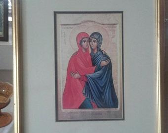 "Beautiful Print of ""The Visitation"""
