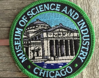Chicago Museum of Science and Industry Souvenir Travel Patch