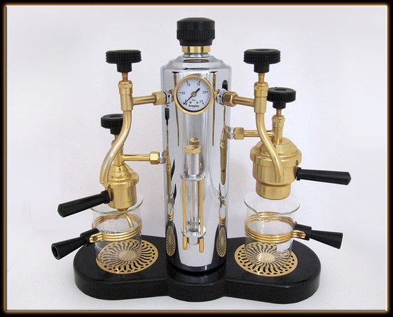 Coffee Maker Made In France : Femoka Paris France Rare Electric Espresso Machine Brass