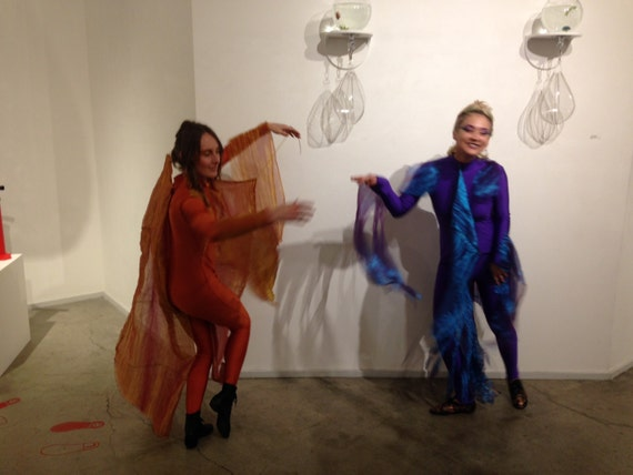 Items similar to two betta fish costumes on etsy for Fish costume adult