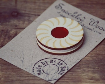 Biscuit Jam Sandwich Magnet