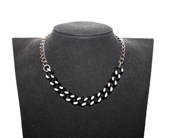 "Reversible necklace ""DUAL"""