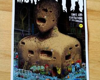 Monolith Underground Illustration Mini-Comic Zine
