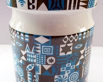 MASSIVE and Rare Tivoli Pattern PORTMEIRION Storage Jar. Susan Williams-Ellis Design 1964: 7 3/4 inches