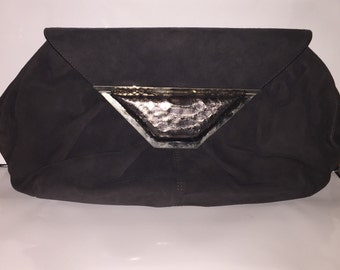 Suede Jane August Convertible Clutch - Sale Does Not Apply