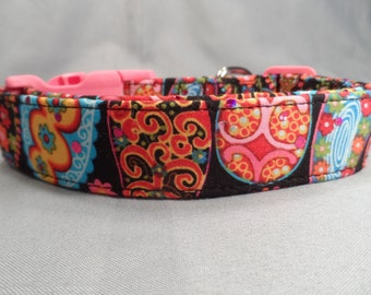 Sparkle Paisley Dog Collar