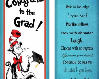 Dr Suess, Frog, Owl, Rainbow Graduation Candy Wrappers