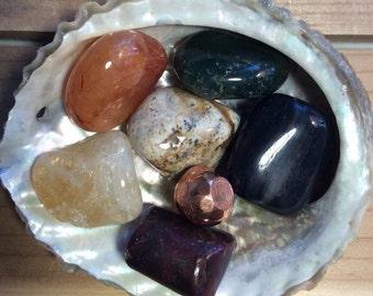 Stones of  Abundance, Healing Stones, Spiritual Stones, Chakra