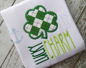 LUCKY CHARM machine embroidery design