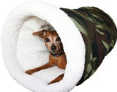 Chihuahua Bag Small Dog Bed Cave Dog Bed Pet Cave Snuggle Sack Dachshund bag Chinese Crested