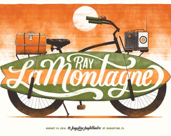 Ray LaMontagne St. Augustine Poster