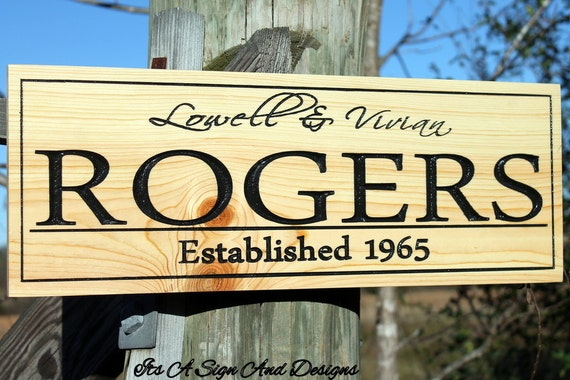 50th Anniversary Gift For Husband: 50th Anniversary Custom Signs Husband Gift By