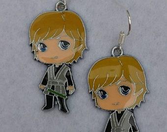 Handmade Luke Skywalker Star Wars earrings