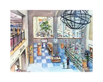Everett Public Library  /// Sketchy Everett Series