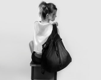 Backpack 2 with string tie system