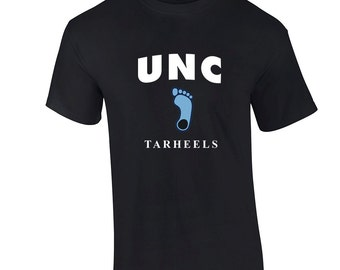 UNC Tarheels T Shirt NEW UNC Fan Tee 2016 Final Four Black Tee