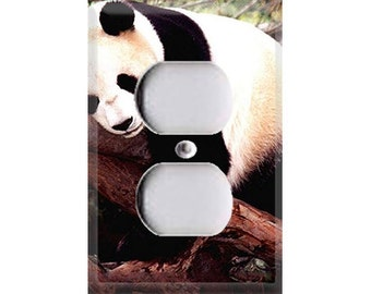 Lazy Panda Single Outlet Cover
