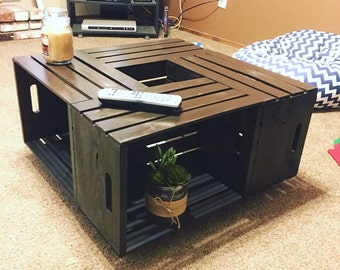 Stylish Crate Coffee Table (California Delivery Only!)