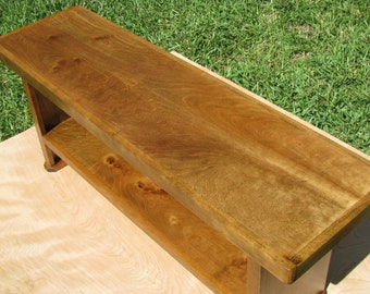 Entry Bench Modern Rustic