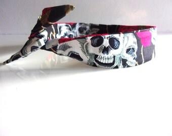 Rigid headband skull