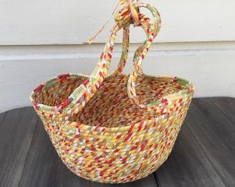 Yellow Market Basket