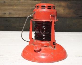 Dietz No. 40 Traffic Gard, Vintage Dietz  Kerosene Lantern for MC Gas Co