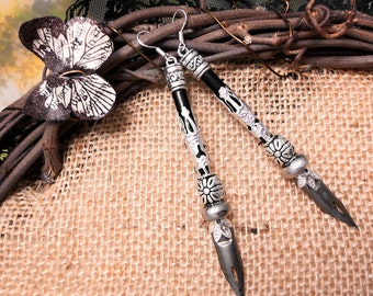 NEW Designer Quill Pen Earrings