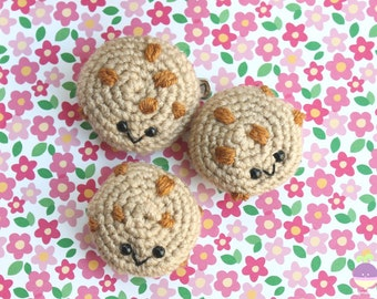Chocolate Chip Cookie Crochet Pattern