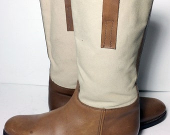 Church's Brown Leather Women's Riding Boots Women's Size 37 Size 6.5
