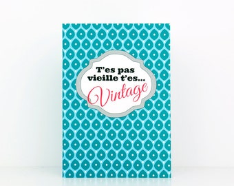 Book: You're not old you're vintage (A6) - DC